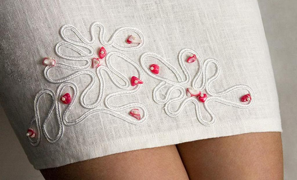 Своими руками вышивка на ткани