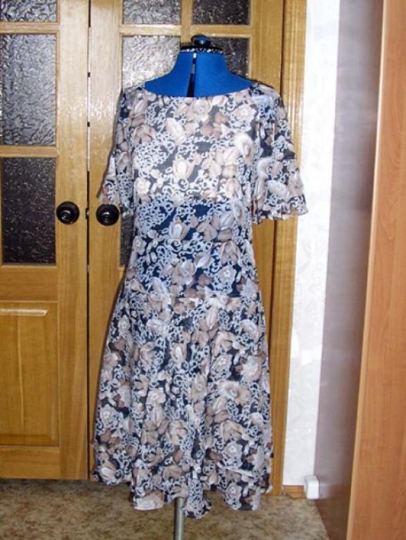 Платье из тончайшего хлопка