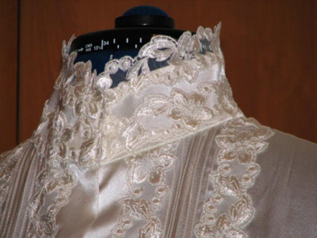 Шелковая блузка(фрагмент)