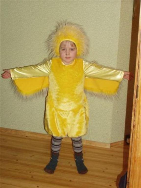 Шапочка для цыпленка своими руками
