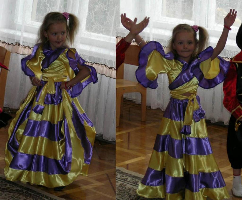 Одежда самого высокого качества Схема выкройки цыганского костюма только у нас.