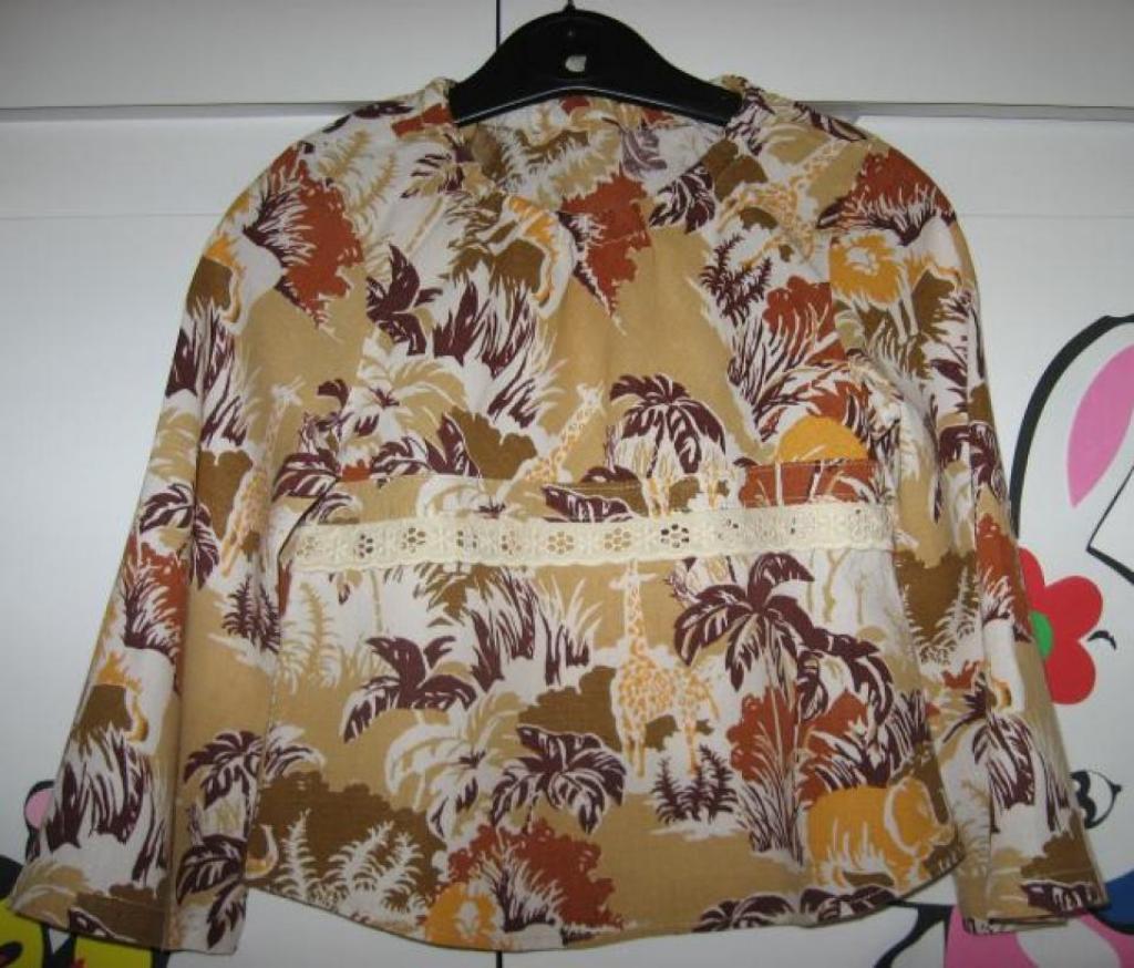 Блузка по Оттобре