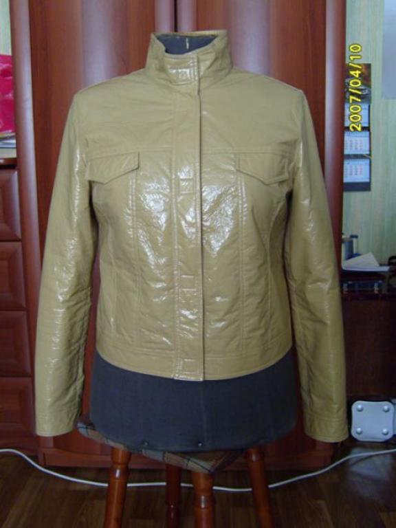Лакированная куртка