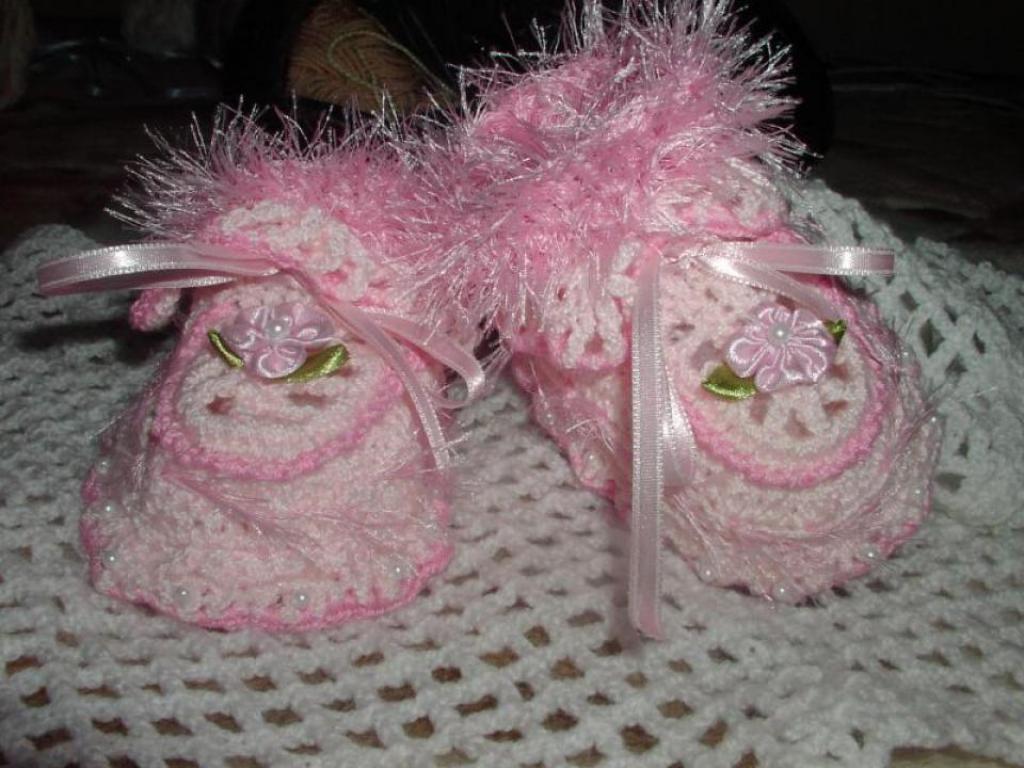 пинетки розовые