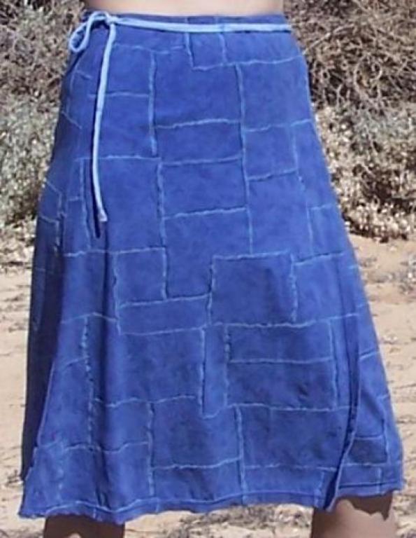 женская юбка с запахом выкройка.