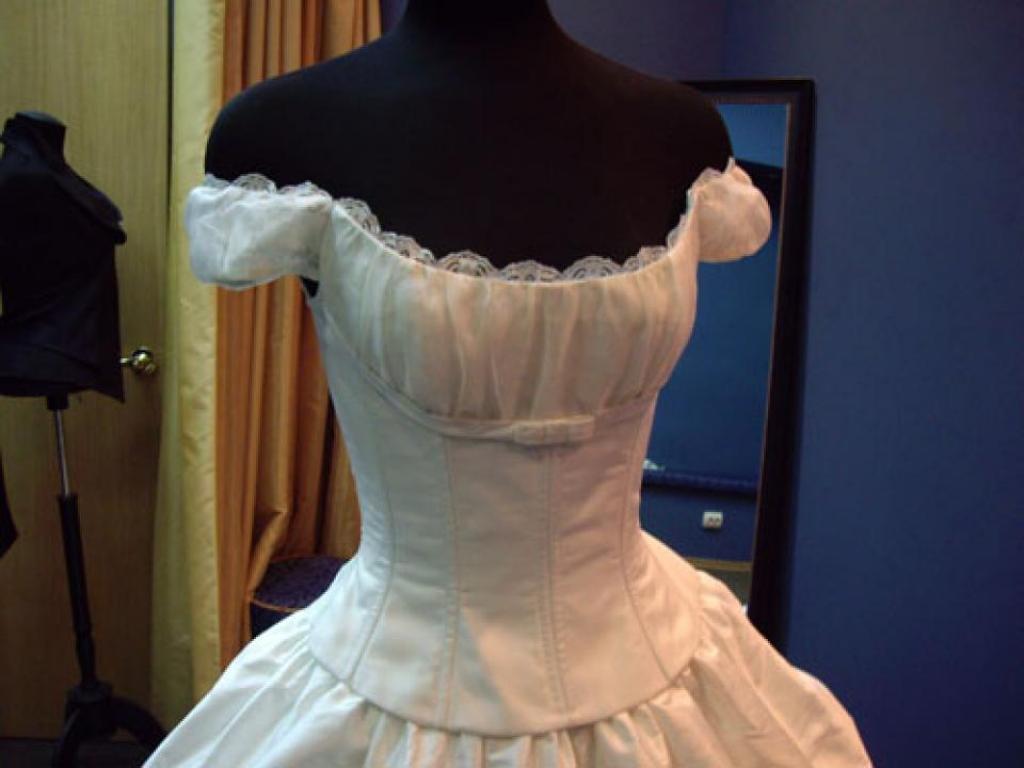 Венчальное платье для женщины 40 лет