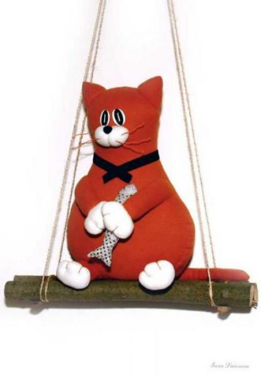 Рыжая котейка :)