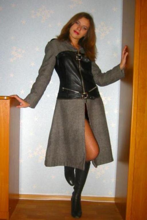 Пальто, которое превращается...