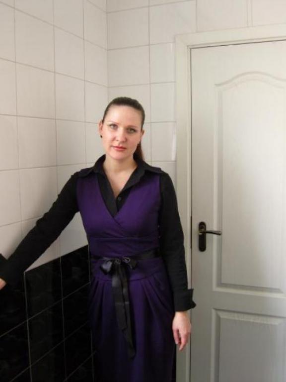 платье из трикотажа (сама сшила) modLer.ru.