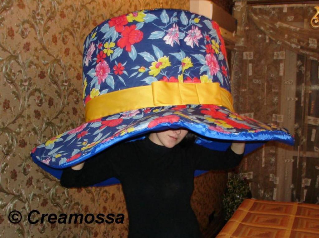 """""""Живая"""" шляпа для постановки в детском саду"""