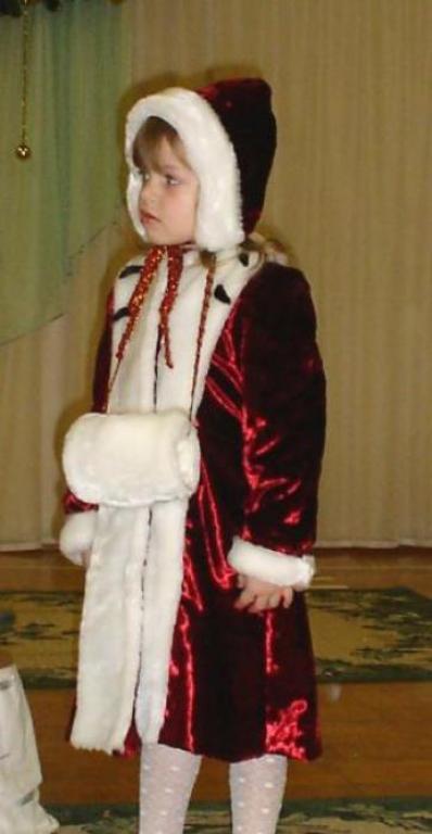 Новогодний костюм для герды