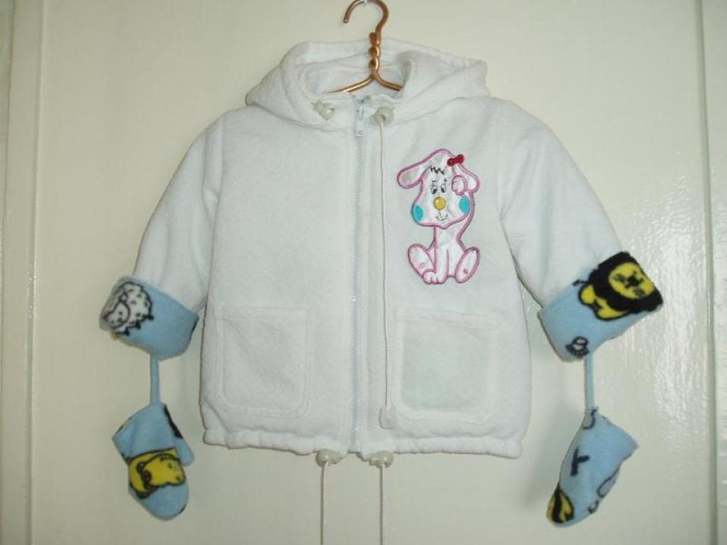 Сшить куртку для ребёнка 56