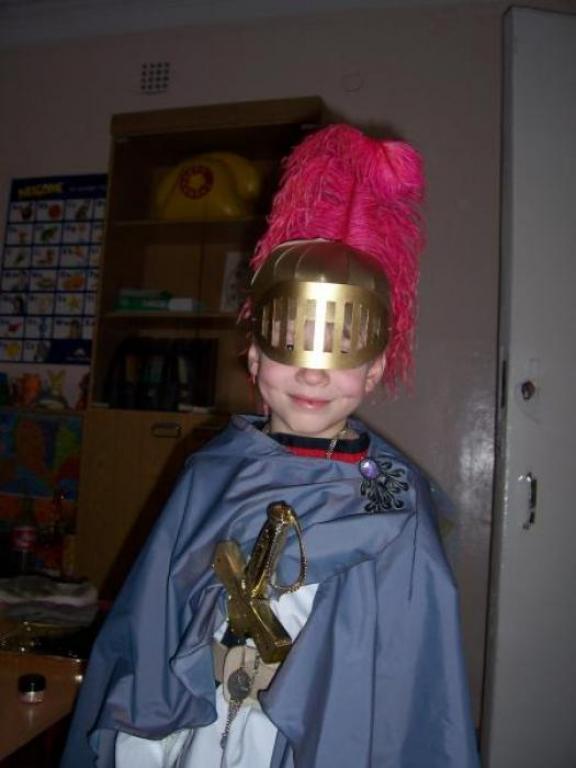Как сделать шлем рыцаря своими руками фото