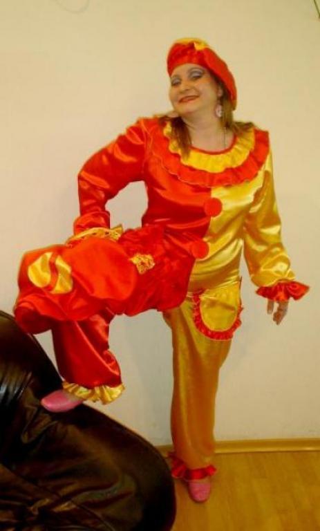 Выкройка комбинезона к костюму Клоуна.