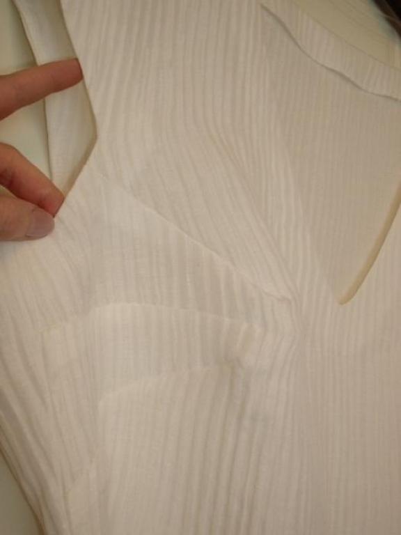 Туника из ткани шёлк+лён