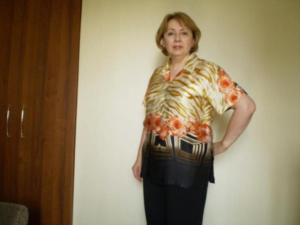 Блуза из натурального шелка(купон)