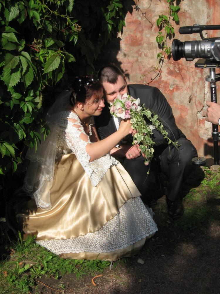 Свадебное платье моей дочери