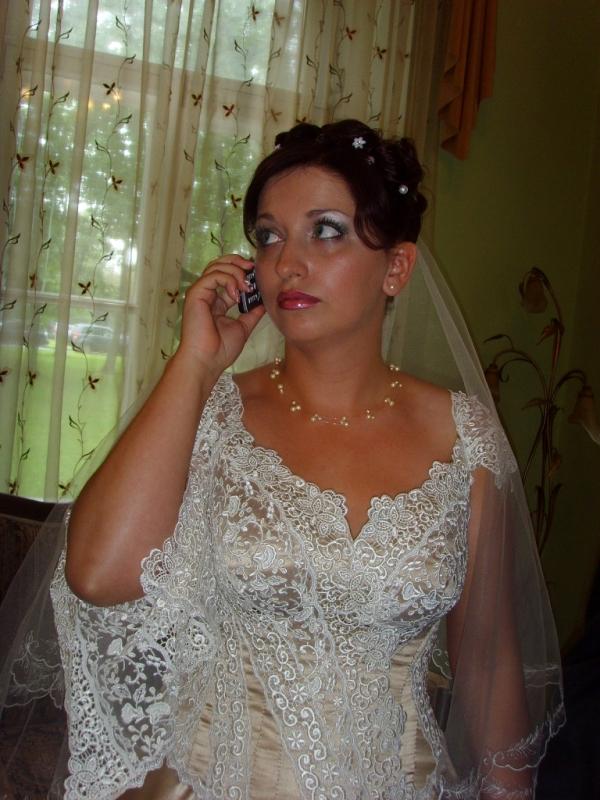 частные фото невест грудь вываливается из корсета