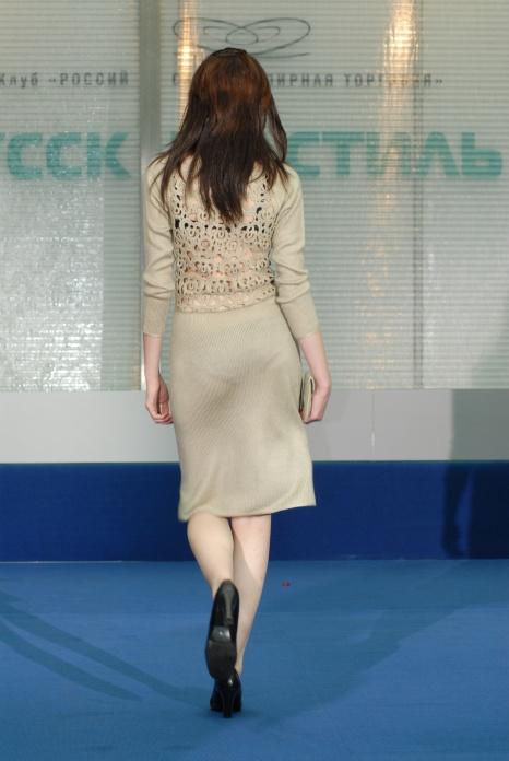 платье трикотажное -спинка