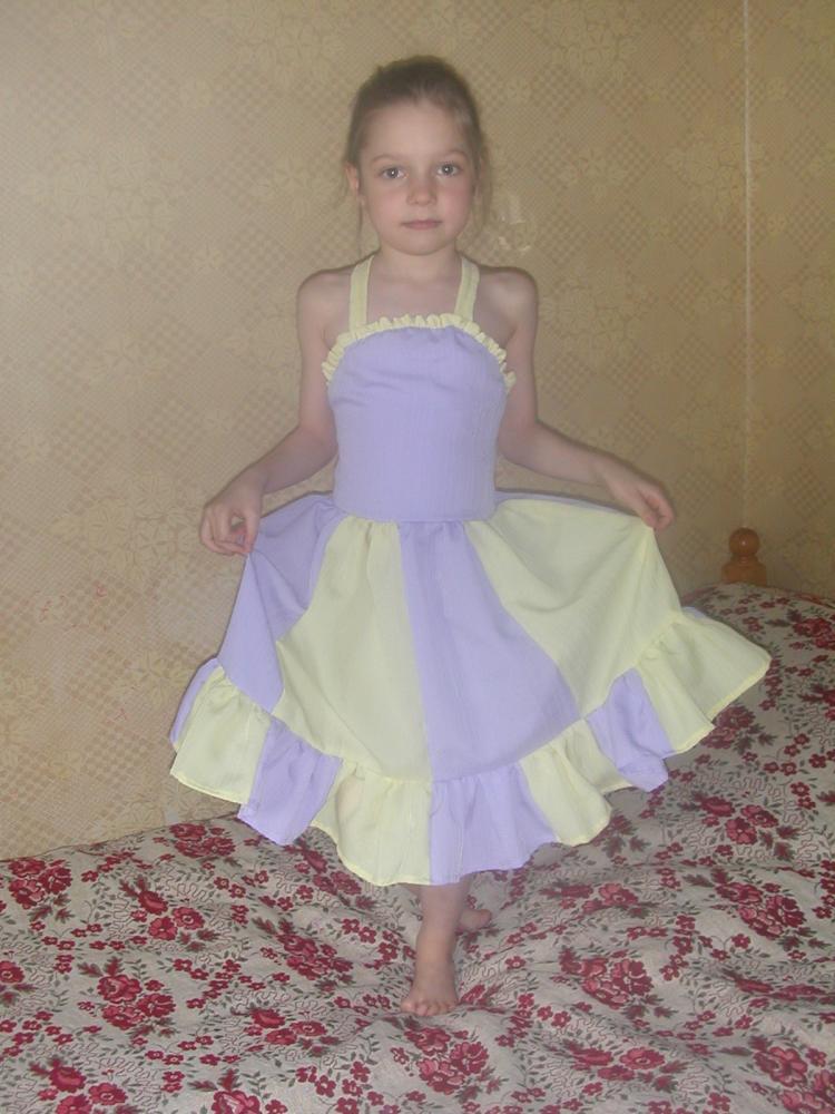 платье для садикового выпускного