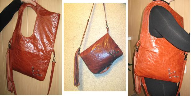 бордовая сумка Еще одна сумка сестре.