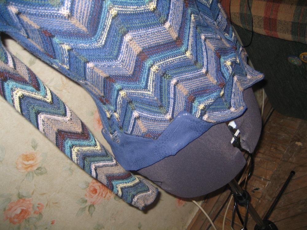 свитер из трикотажа миссони