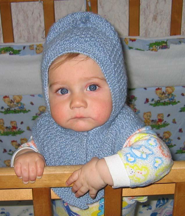 вязание спицами для детей схемы бесплатно шапочка шлем.