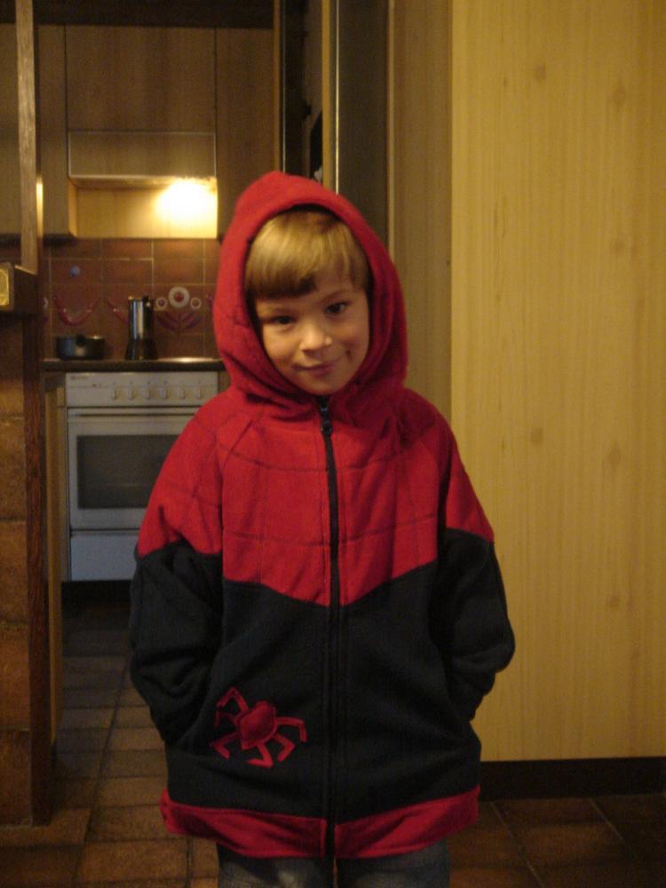 "Куртка ""Спайдер-Мэн"" на пятилетку"