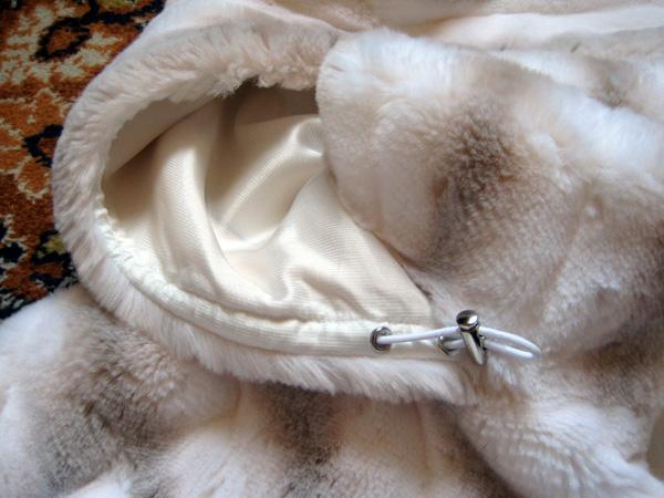 шубка из искусственного меха