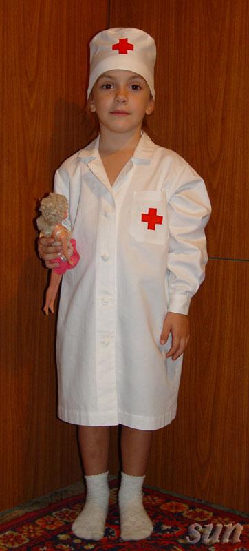 Детские медицинские халаты выкройки