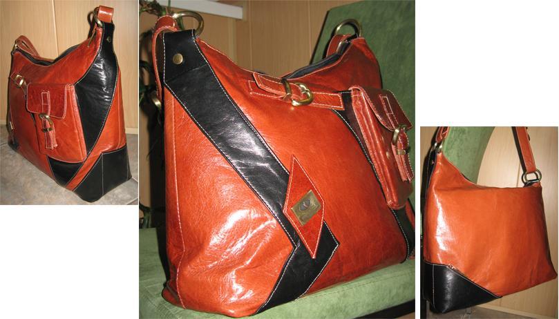 6c8f4b8dfcb4 сумка вышла комбинированной:) Металлофурнитуру сняла со старой покупной  сумки - своего рода дань памяти любимой, но заношеной вдрызг сумке:)  Ракурсы с ...