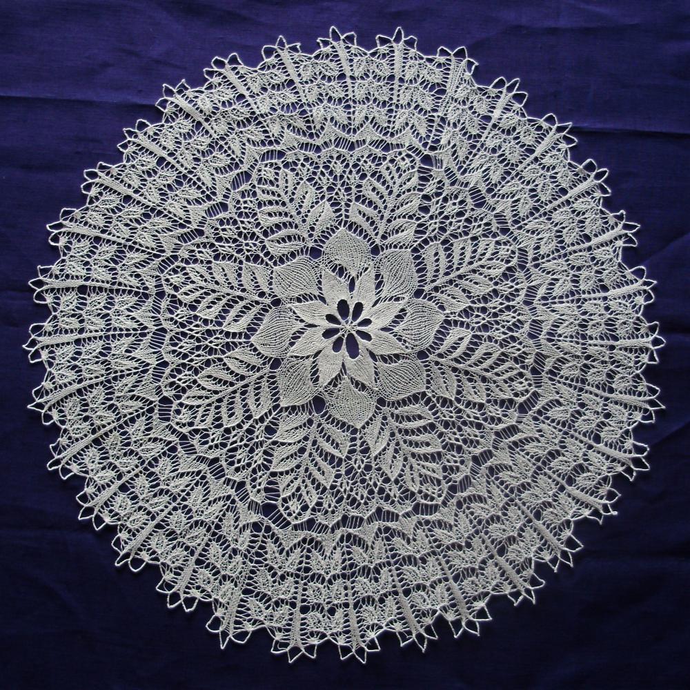 схема вышивки маки крестом.