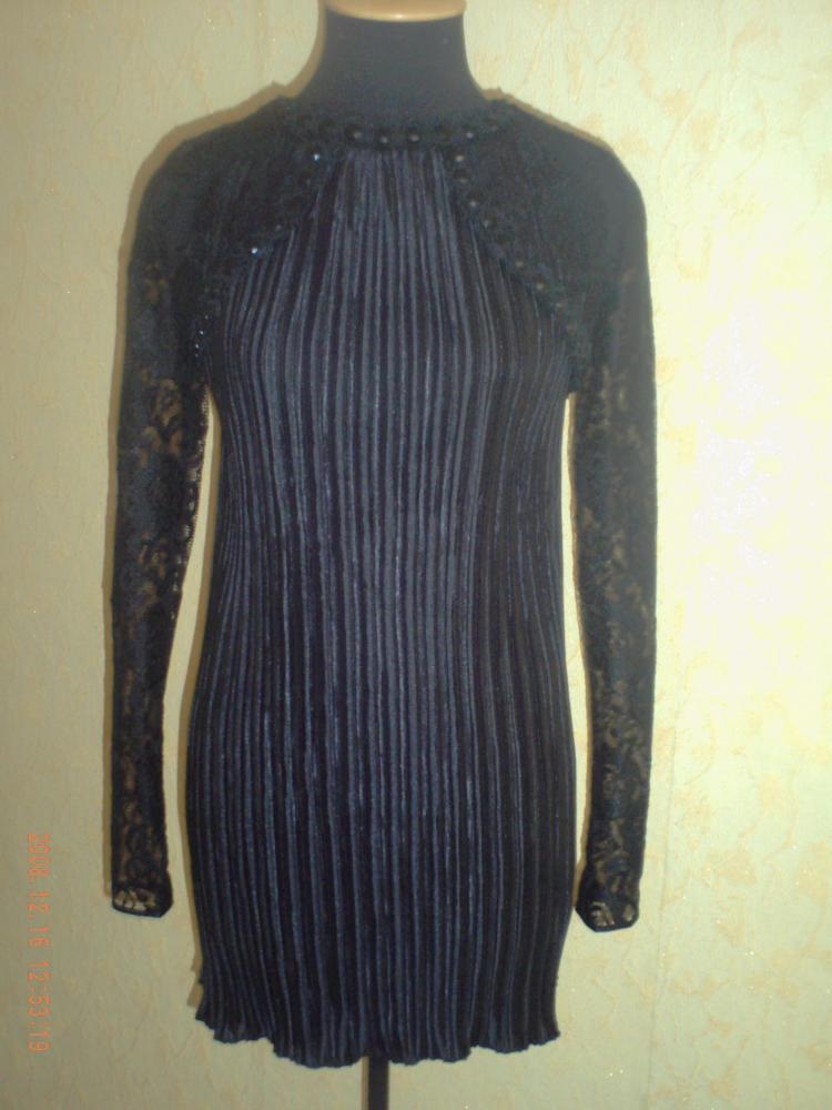 расчет ткани на платье из гипюра.