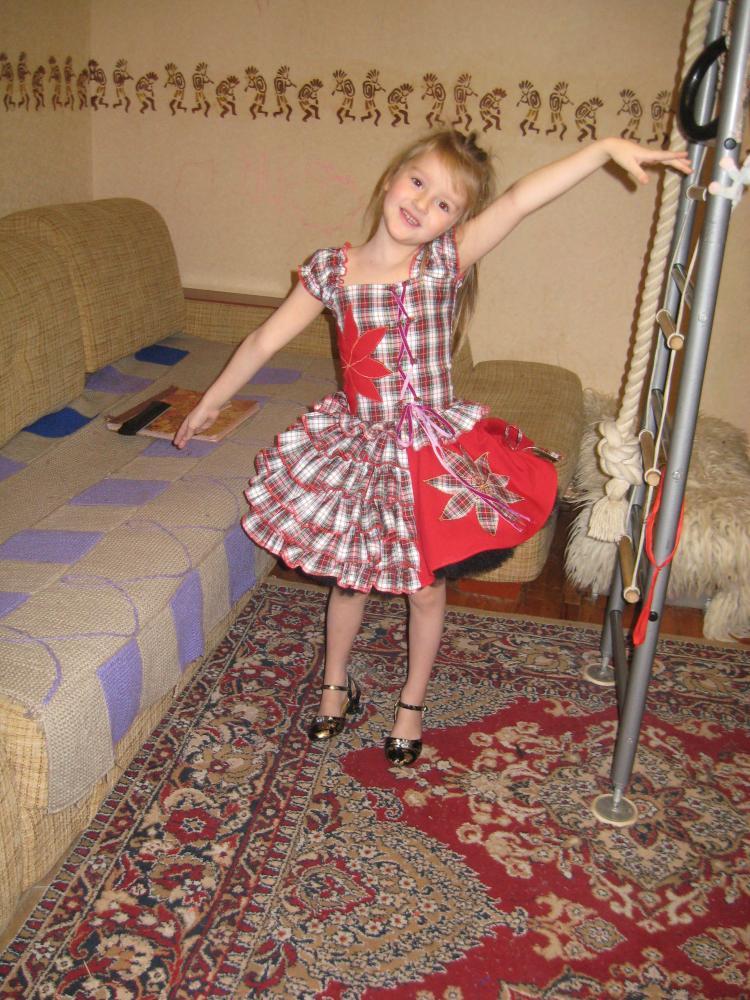 Такая юбочка-пачка порадует любую маленькую принцессу. как сшить юбку для девочки.
