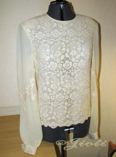 Модели блузок из шелка в москве
