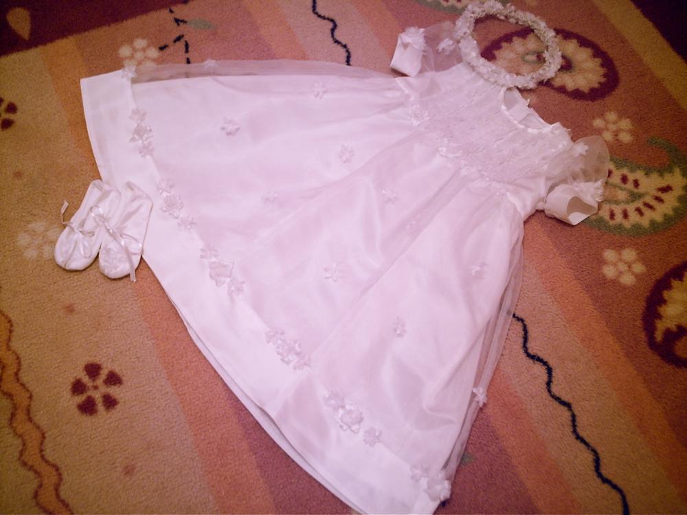 Платье для крещения для девочки сшить