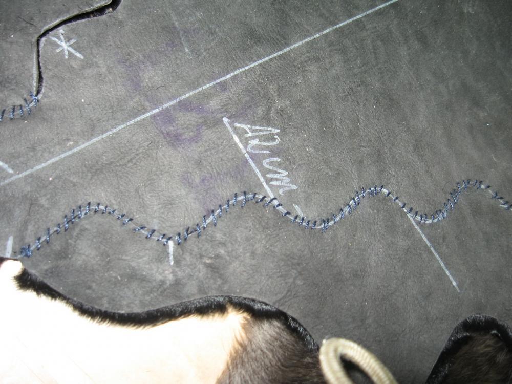 Как красиво сшить кожу Экология, дизайн, ремесло.  7 дек 2011 .