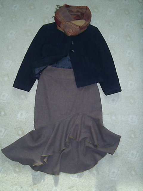 Один жакет+три юбки