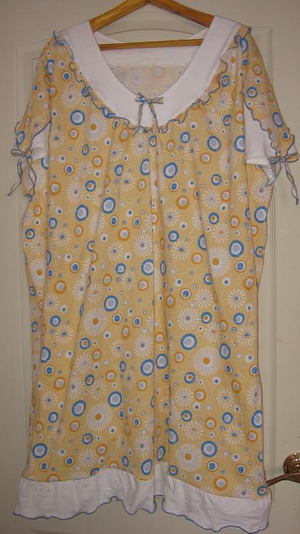 сорочка для бабушки, х/б трикотаж