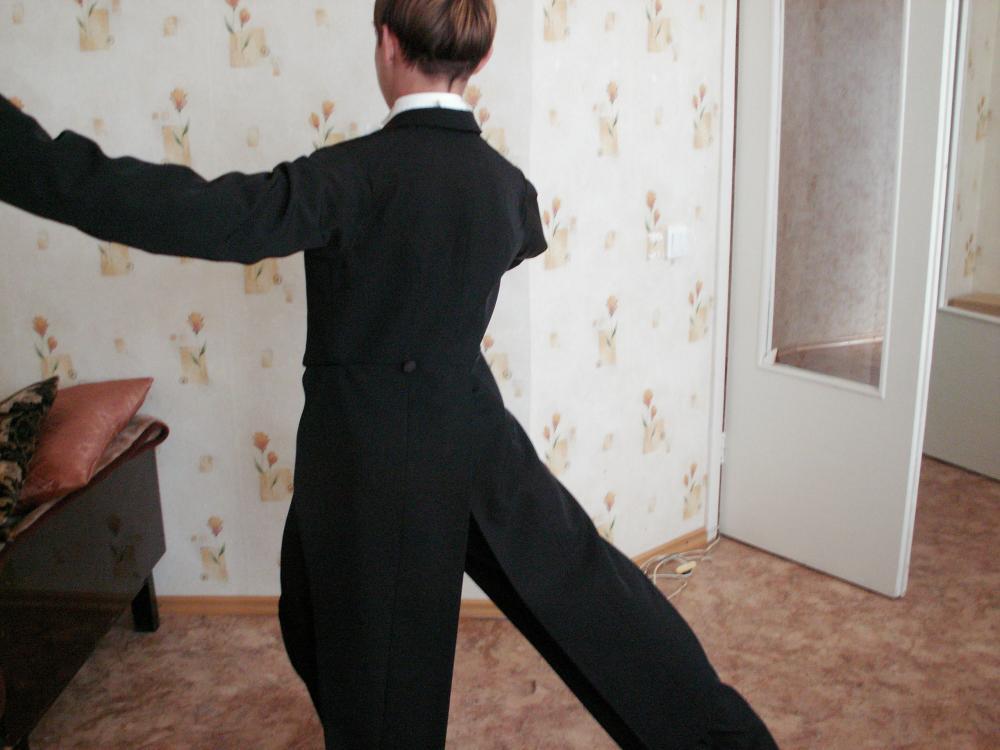 построение фрака для бальных танцев