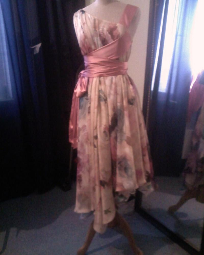 вечерние короткие платья фото