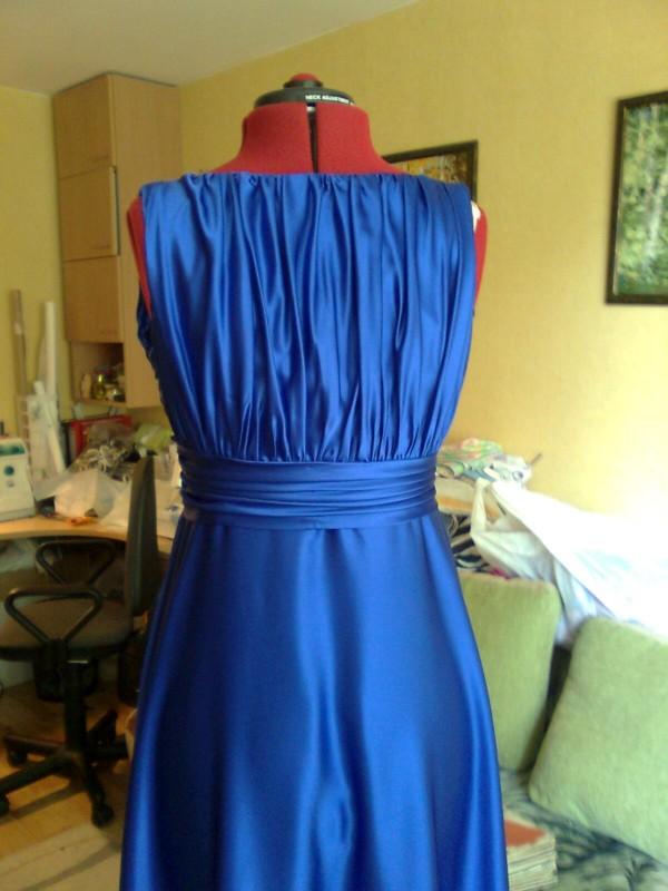 Видео как сшить платье из шелка своими руками
