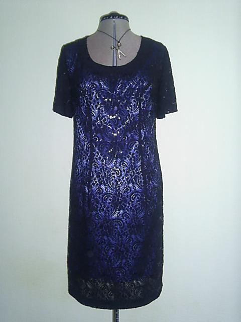 Платье футляр из кружевного полотна
