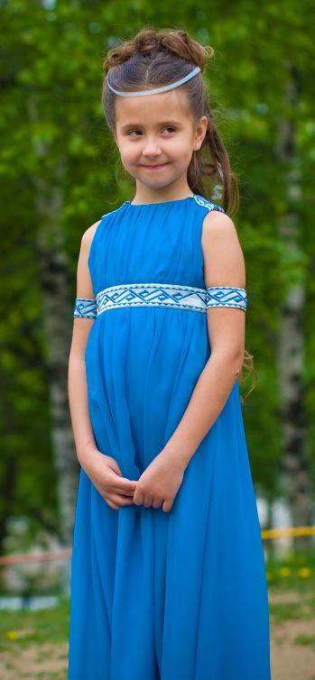 Платье для выпускного в детском саду любимой дочке! / Творчество .