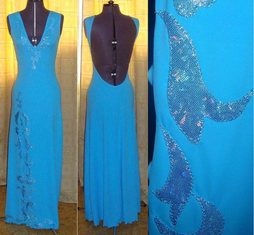 Сшить платье с бифлекса 46
