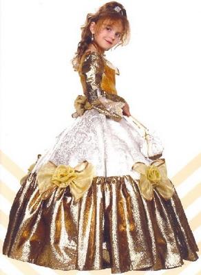 """Детское бальное платье в этно-стиле  """"Олеся """" Корсет из атласа - цвет..."""