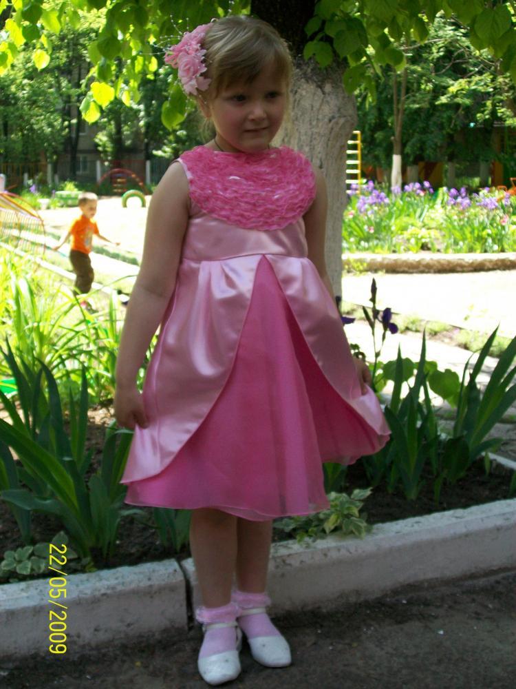Платье на выпускной в детский сад выкройка фото