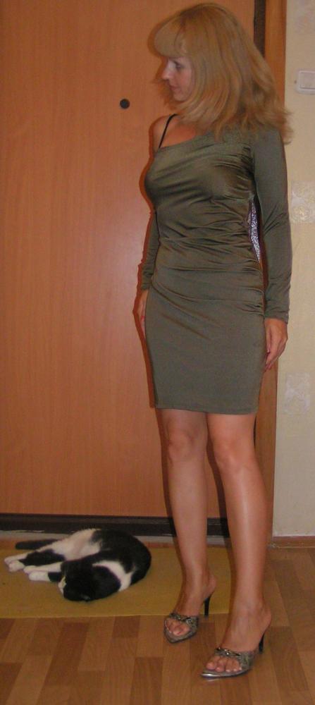 платье из бифлекса