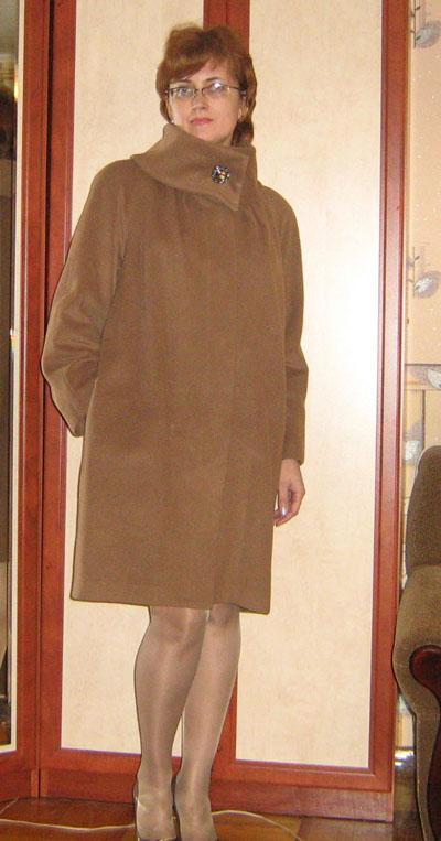 Выкройка пальто шинели