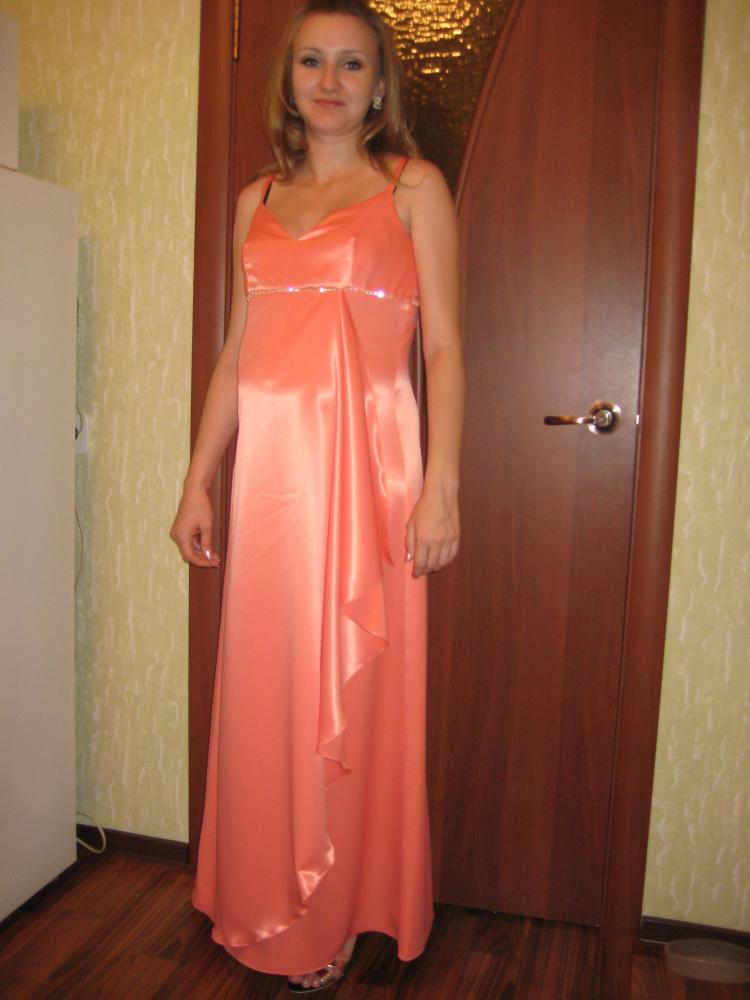 Сшить вечернее платье беременных